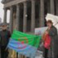 Bécsi demonstráció március 5-én, Világbékemenet október 2-tól