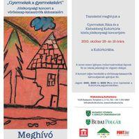 Jótékonysági koncertek a vörösiszap-katasztrófa áldozataiért