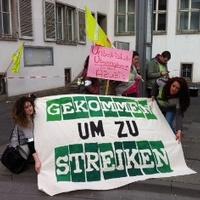 Sztrájkok Németország szerte.