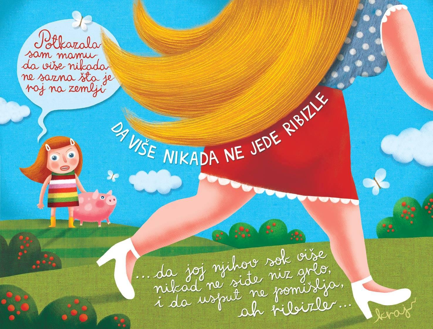 O, a ribiszke! c kisprozamnak kepregenyes valtozata_Maja Veselinovic belgradi kepzomuvesz munkaja 2.jpg