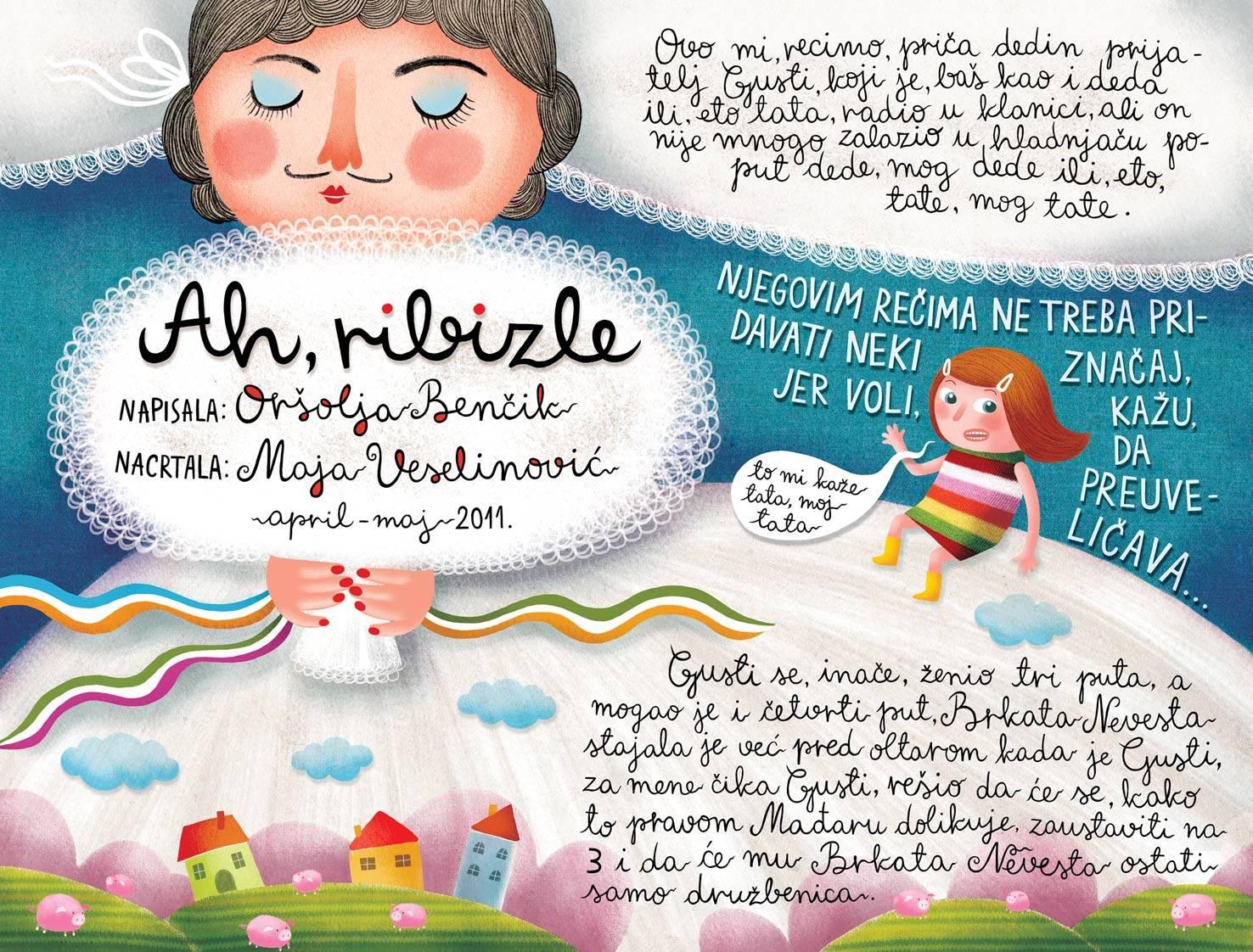 O, a ribiszke! c kisprozamnak kepregenyes valtozata_Maja Veselinovic belgradi kepzomuvesz munkaja 3.jpg