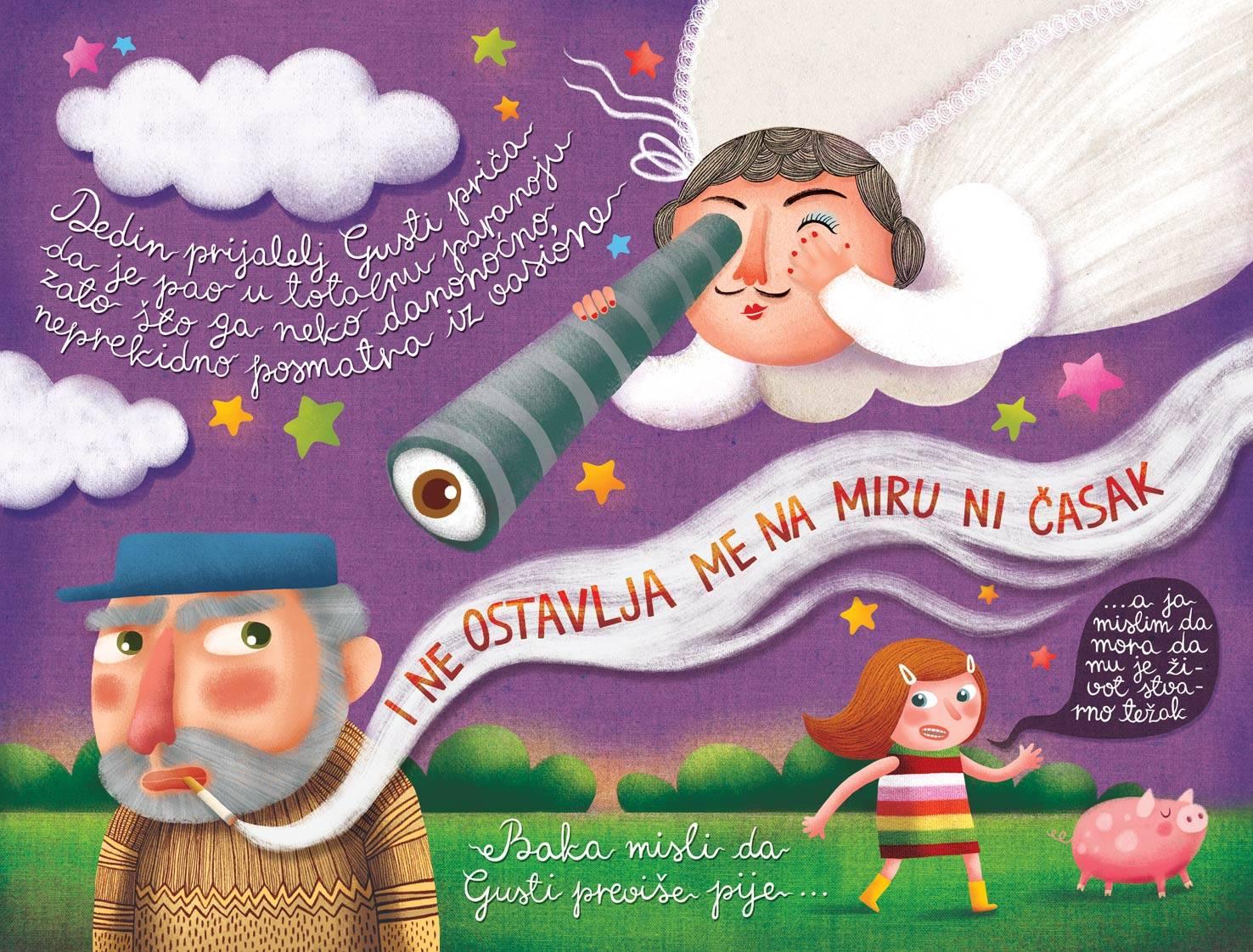 O, a ribiszke! c kisprozamnak kepregenyes valtozata_Maja Veselinovic belgradi kepzomuvesz munkaja.jpg