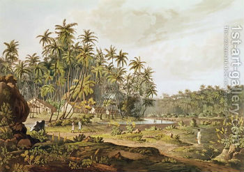 View-Near-Point-Du-Galle-Ceylon-Engraved-By-Daniel-Havell-1785-1826-Published-In-1809a.jpg