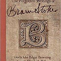 :FULL: The Forgotten Writings Of Bram Stoker. ciudad Adeline Mundial presento urban agrupa