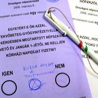 Kurvaanyázott a szavazólapon
