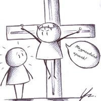 Egy emlékkönyvbarát Jézus-ábrázolás