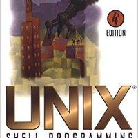 UNIX Shell Programming Mobi Download Book