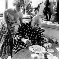 Egy nagy találkozás képei: Bardot és Picasso