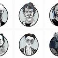 Magyar grafikus rajzaival pózolnak a Trónok harca sztárjai