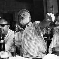 Így szerette az italokat Ernest Hemingway