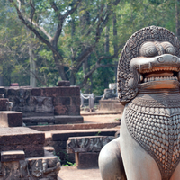 Ősi templomváros Kambodzsában: Angkor - két keréken