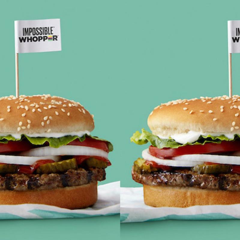 Ilyen a hihetetlen hamburger, ami nem hús, mégis olyan