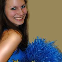 ELTE cheerleader