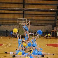 ELTE Cheerleaderek 2011. 03. 28 Futsal meccsen