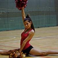 ELTE Cheerleaderek Mikulás fellépése