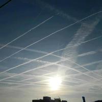 Bizonyíték #14: Furcsa minták az égbolton