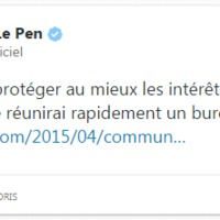 Családi perpatvar, ideológiai válság a Nemzeti Fronton belül (2015. április 19.)