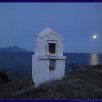 Teli Hold ~ kék-fehérben, ezüst tengerrel...