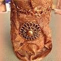 Ceruzatartó ~ bronzban, leheletnyi arannyal