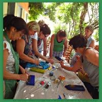 Hogyan kezdjük a paverpolos = textildekorációs faliképek készítését?