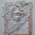 Hó Királynő ~ paverpolos faliképként