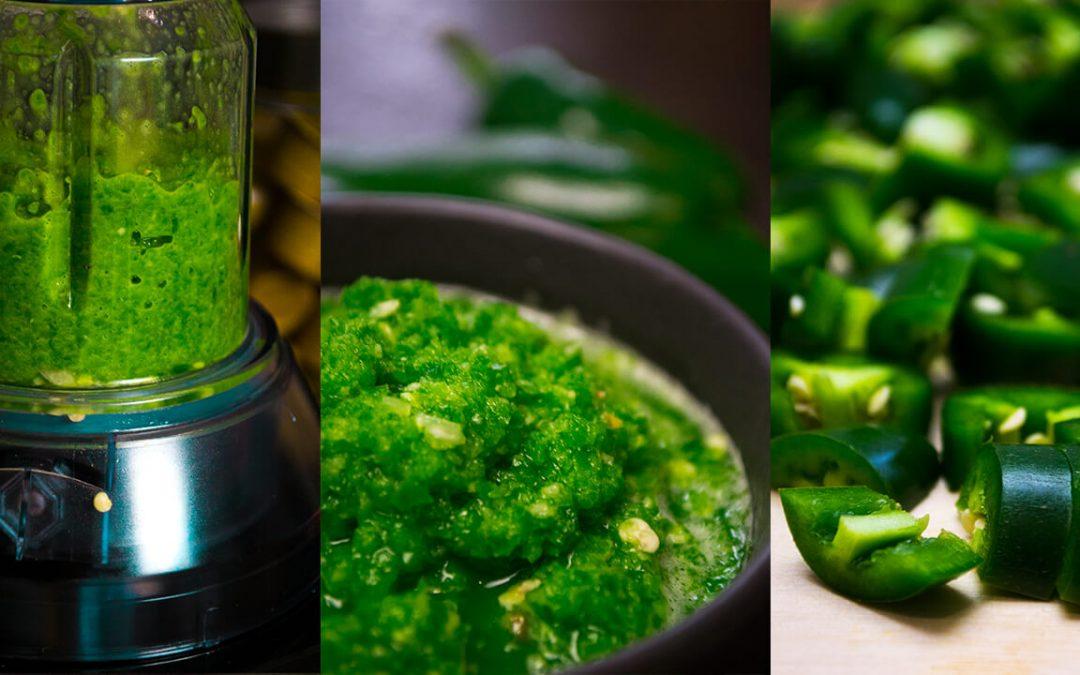 Brutálisan sós, zöld Jalapeno chili krém recept