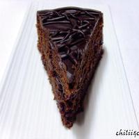 Feketeribizlis csokoládétorta