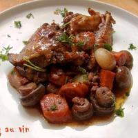 Coq au vin - kakas vörösborban