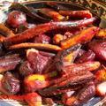 Sült zöldségek lilában
