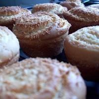 Kókuszos csiga muffin