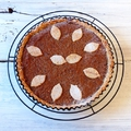Tarte aux noix et café - Diós tarte kávéval