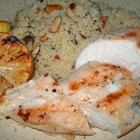 Kuszkuszsaláta grillezett csirkével