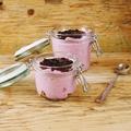 Joghurt mousse bogyós gyümölcsökkel