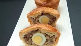 Borjúhúsos mini pite
