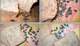 Cukkínis-magos falusi kenyér