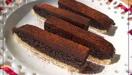 Mákos csokis szelet