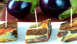 Tortilla de berenjenas - padlizsán tortilla