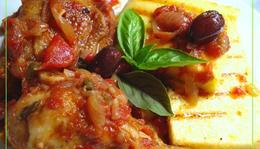 Csirke olaszosan