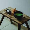 Porrá őrölt zöld tealevelek, matcha készítés otthon