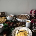 Norvég vaníliás tejberizs juharszirupos narancsöntettel karácsonyra