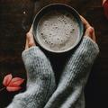 Tahini reishi latte