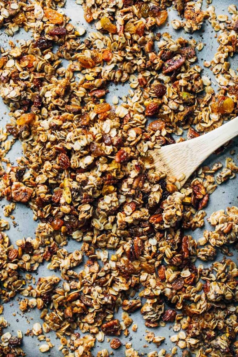 Kurkumás granola
