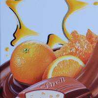 Lindt - narancsos, mandulakrokantos