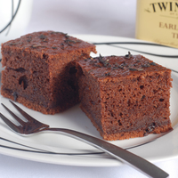 Csokoládé-Earl Grey süti