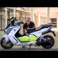 BMW C Evolution – elektromos motor ami letépi a fejed