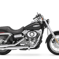 Cruiser Harley Dyna Super Glide Custom