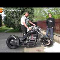 Zaporozsec motoros magyar chopper