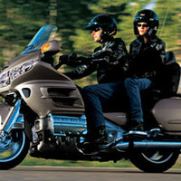 Touring Honda Gold Wing