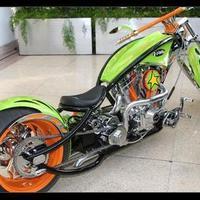 zöld és narancs koncepció