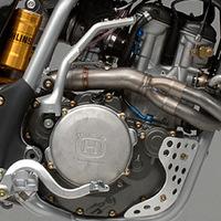 Dirt Husqvarna Engine